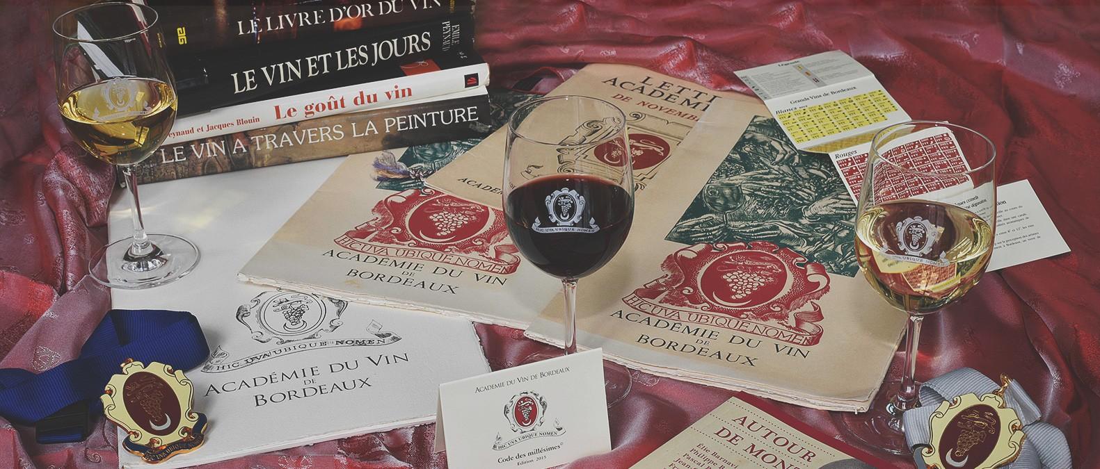 Académie du vin de Bordeaux accueil