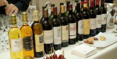 Dégustation des vins des Châteaux associés de l'Academie du Vin de Bordeaux