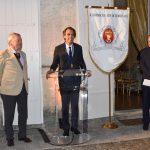 Remise du diplôme d'Académicien du Vin de Bordeaux à MM Dessertine et Rousseau